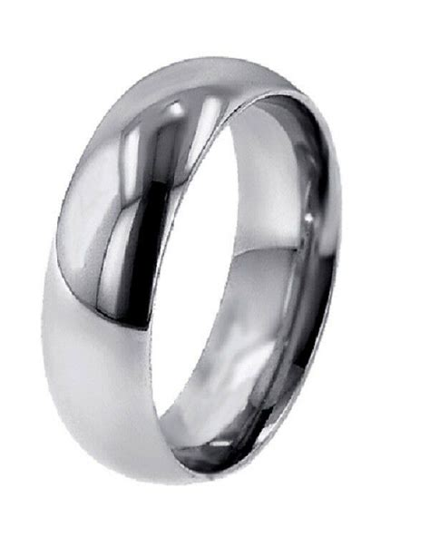 lowest price domed palladium 5mm wide wedding band ring ebay