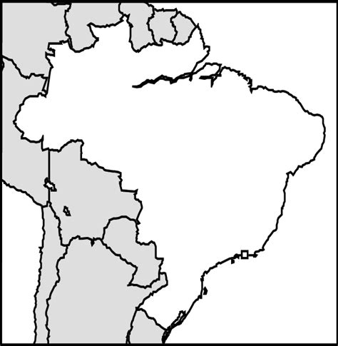 coloring page map of brazil abcteach printable worksheet maps brazil