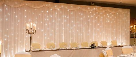 Wedding Twinkle Backdrop by Twinkle Light Backdrop Hire Pretty Chairs In