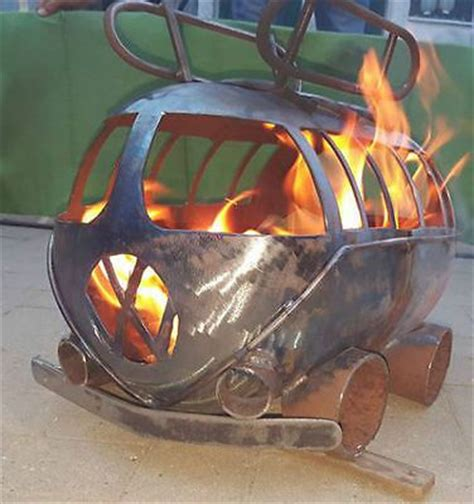 vw chiminea vw cer gas bottle wood burner log burner firepit