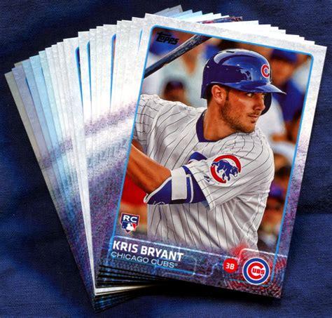 Baseball Gift Card - 2015 topps chicago cubs baseball cards team set