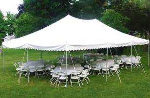 20 X 30 Canopy Tent by Parties Picnics Amp Promos Tents Tables And Chairs