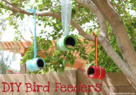 the simple solution mom diy bird feeders