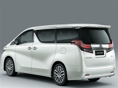 mpv toyota toyota may bring luxury mpv alphard to india times of india