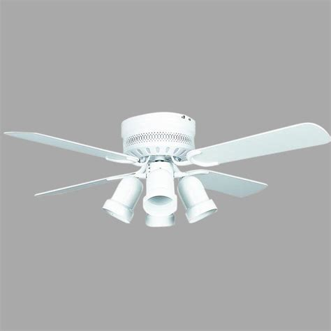 home depot white ceiling monte carlo clarity ii 42 in rubberized white ceiling fan