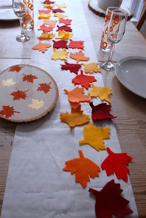 table setting runner and placemats no sew thanksgiving table runner and placemats