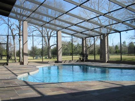 enclosed pools pool enclosure above ground jen joes design opening