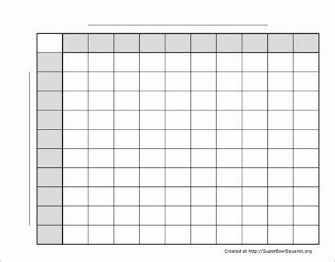 free printable football squares template printable football squares excel templates all