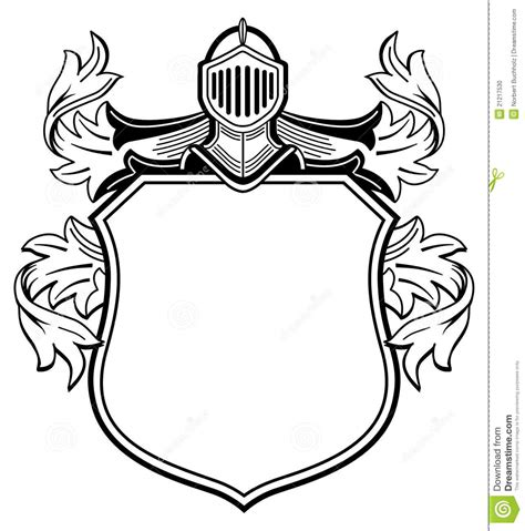 templates clipart heraldic pencil and in color templates