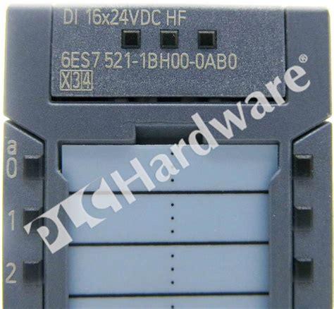 6es7521 1bl00 0ab0 Simatic S7 1500 Digital Input Module Di plc hardware siemens 6es7521 1bh00 0ab0 simatic s7 1500 digital input