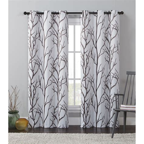 panel curtains vcny keyes printed blackout curtain panel ebay