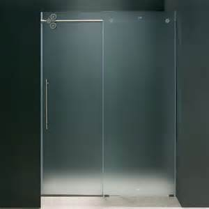 sliding frameless shower doors shower and tub doors wayfair