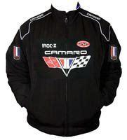 camaro racing jacket race car jackets camaro chevrolet racing jacket black