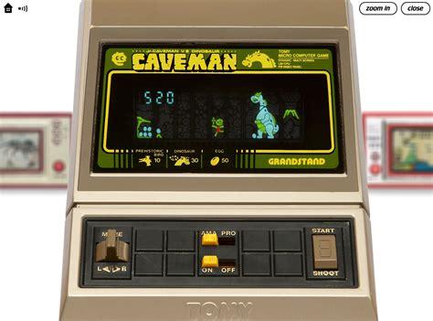 Lcd Portable caveman lcd handheld nostalgia