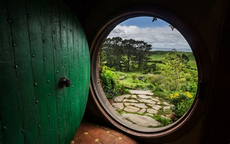 The Doors The End Meaning by Nature Bag End Door The Shire The Lord Of The
