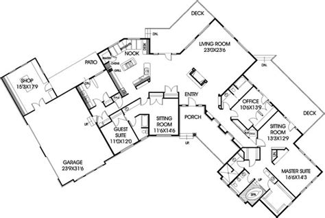 l shaped bungalow floor plans house plan 99721 at familyhomeplans com