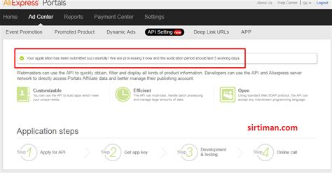 Aliexpress Portal | cara mendapatkan aliexpress api keys mentor bisnis