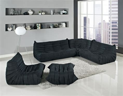 floor couch ideas  unconventional living room furniture