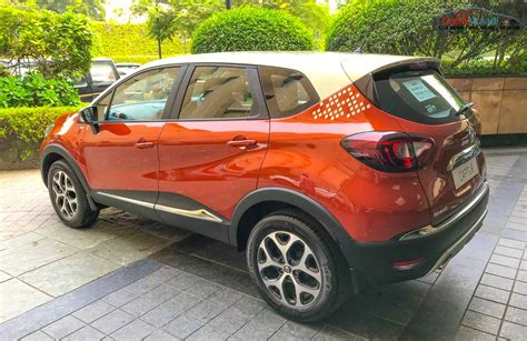 renault captur black renault kaptur captur india price booking engine