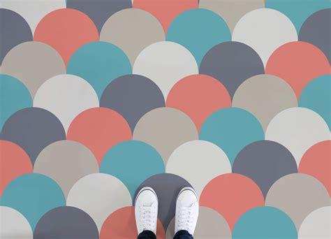 bubble pattern vinyl flooring sherbet atrafloor
