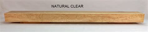 Hickory Mantel Shelf by Rustic Modern Custom Hickory Beam Fireplace Mantel