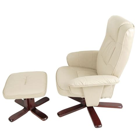 Recliner Lounge Chair And Ottoman by Pu Leather Swivel Recliner Lounge Chair And Ottoman Buy