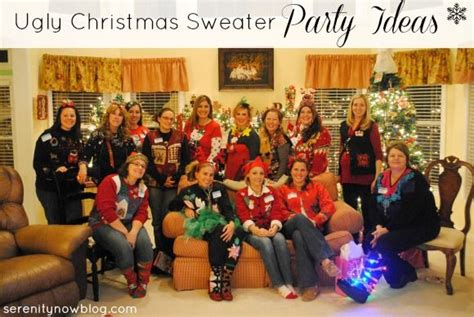tacky gift swap ideas sweater ideas out from serenity now and amanda are