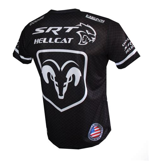 Dodge Shirt by Dodge Hellcat T Shirt With Logo And All Printed