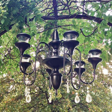 Solar Chandelier Jar Hanging Solar Outdoor Chandelier Solar Chandelier