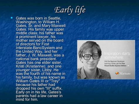 short biography bill gates life bill gates 180 s creativity inventions and brief overview of