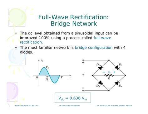 diode bridge network c hapter 2 diode applications