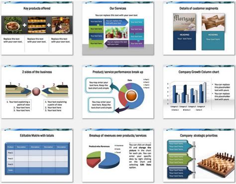 Powerpoint Business Introduction Template Templates For Business Presentation