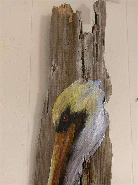 Painting Wood by Pelican Painting On Reclaimed Wood C P F Paintings