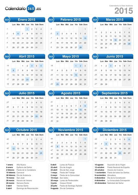Calendario 365 Es Fases De La Calendario 2015