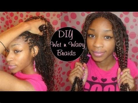 the best wet and wavy hair braids synthetic braids to wet wavy youtube