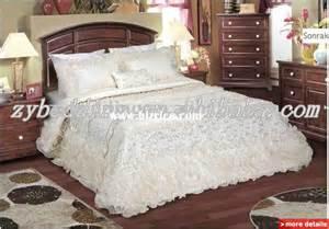 luxury satin silk hotel bedding sets china comforter for