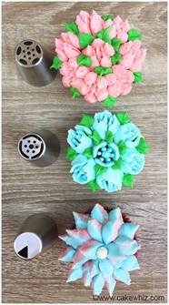 Easy Fall Cake Decorating Ideas - russian piping tips tutorial