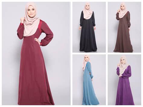 jubah moden terkini fesyen baju muslimah terkini 2014