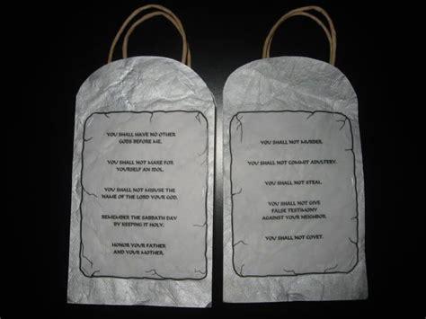 ten commandments craft ideas for 103 best images about 10 commandments on