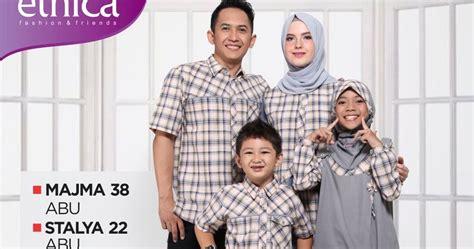 Sarimbit Keluarga Qirani Melati 10 koleksi sarimbit keluarga ethica terbaru kotak abu