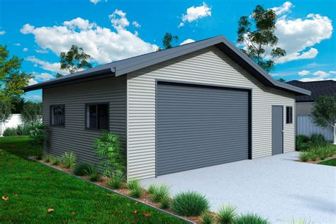 Garages And Sheds Garages And Sheds With Eaves Ranbuild