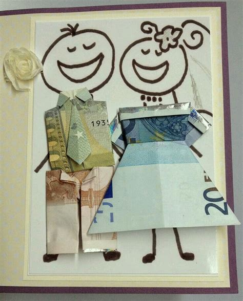 hochzeitskleid aus geld falten die 25 besten ideen zu geldbaum auf pinterest