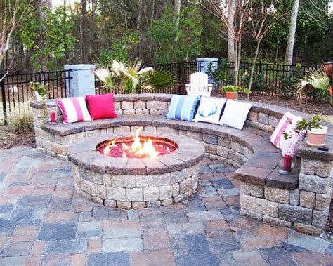 best outdoor pit seating ideas home decoratings and diy