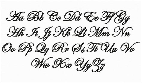 tattoo lettering edwardian script edwardian script machine embroidery font picture to pin on