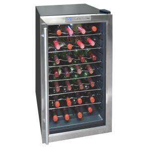 vinotemp 28 bottle thermoelectric wine cooler vt 28teds