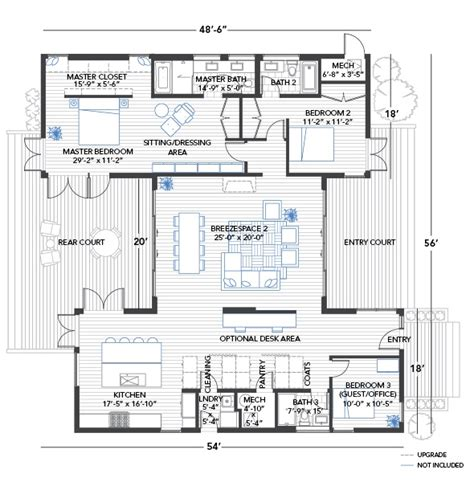 floor plans with breezeway blu homes breezehouse home blu homes pinterest