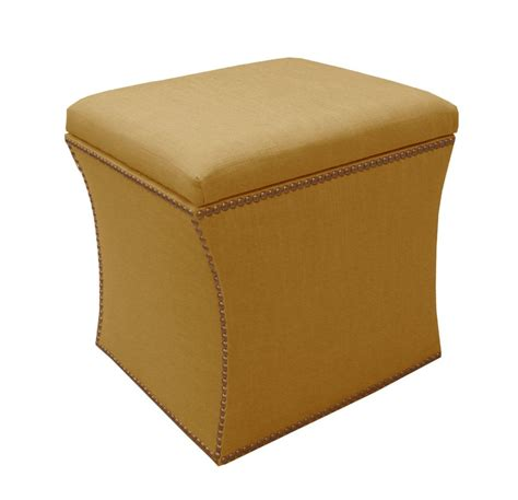 skyline furniture storage ottoman 5 best yellow ottoman enjoy nature s elements tool box