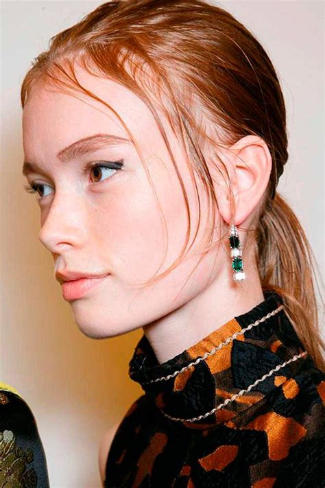 hspring 2015 hairstyle pictures the best runway hairstyles spring 2015 from milan fashion