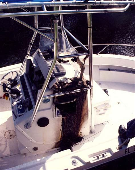 Improper Boat Hitching And Distracted by How To Install Electrical Items On Your Boat Boating