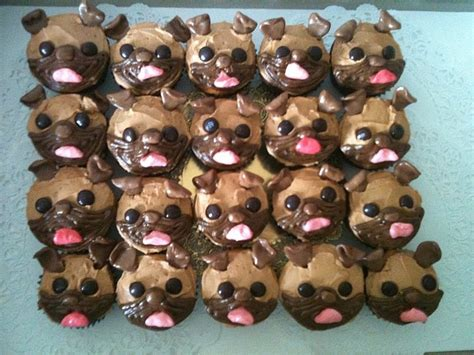 pug cupcakes for sale the 25 best pug cupcakes ideas on a pug to look and cupcake ideas